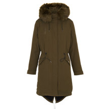 Buy Whistles Jules Parka Jacket Online at johnlewis.com