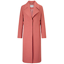 Buy Grace & Oliver Adeline Wool Midi Coat, Dusty Pink Online at johnlewis.com