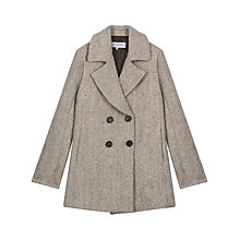 Buy Gerard Darel Gabin Coat, Light Grey Online at johnlewis.com