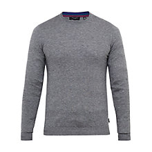 Buy Ted Baker T for Tall Cashtt Plain Crew Neck Jumper, Grey Marl Online at johnlewis.com