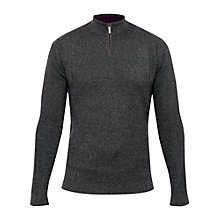 Buy Ted Baker T for Tall Pintt Woven Funnel Neck Jumper Online at johnlewis.com