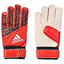 Buy Adidas Ace Training Goalkeeper Gloves, Red Online at johnlewis.com
