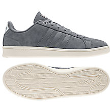 Buy Adidas Neo Cloudfoam Advantage Men's Trainer, Grey Online at johnlewis.com