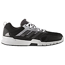 Buy Adidas Essential Star 3 Mesh Men's Cross Trainers, Black Online at johnlewis.com