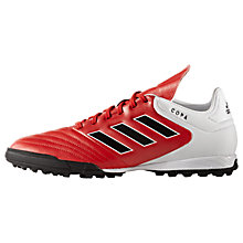 Buy Adidas Copa 17.3 TF Men's Football Boots, Red Online at johnlewis.com
