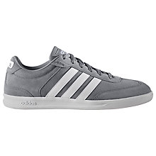 Buy Adidas Neo Cross Court Men's Trainers, Grey Online at johnlewis.com