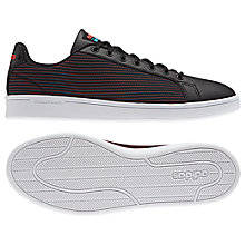 Buy Adidas Neo Cloudfoam Advantage Striped Men's Trainers Online at johnlewis.com