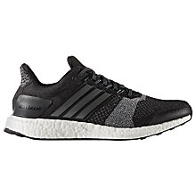 Buy Adidas Ultra Boost ST Men's Running Shoes, Black Online at johnlewis.com