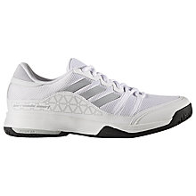 Buy Adidas Barricade Men's Tennis Court Shoes Online at johnlewis.com