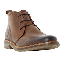 Buy Dune Chadwick Chukka Boots, Tan Online at johnlewis.com