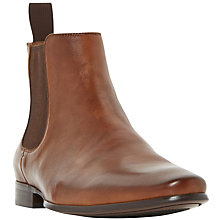 Buy Dune Misfit Chelsea Boots, Tan Online at johnlewis.com