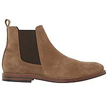 Buy Bertie Miguel Suede Chelsea Boots, Tan Online at johnlewis.com
