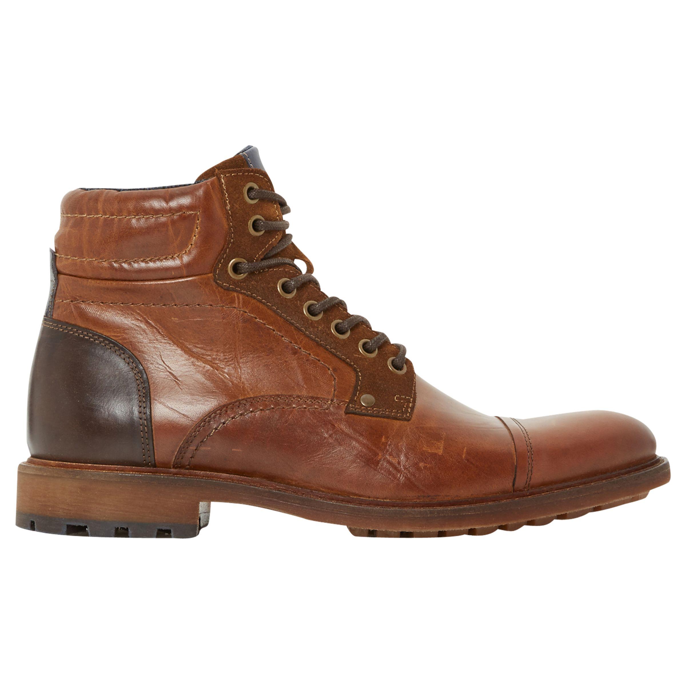 Bertie Bertie Clef Lace-Up Boots
