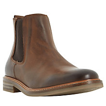 Buy Dune Chad Chelsea Boots, Tan Online at johnlewis.com