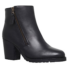 Buy Kurt Geiger Sweep Mid Heel Ankle Boots Online at johnlewis.com