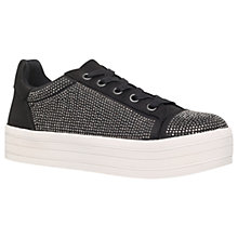 Buy Carvela Leonie Flatform Embellished Trainers Online at johnlewis.com