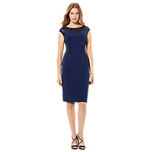 Buy Lauren Ralph Lauren Glendonna Dress, Lighthouse Navy Online at johnlewis.com