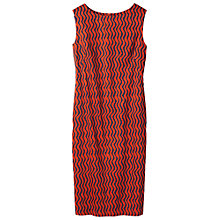 Buy Toast Bukhara Stripe Column Dress, Auburn/Navy Online at johnlewis.com