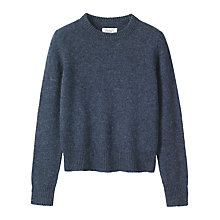 Buy Toast Shetland Neat Wool Jumper Online at johnlewis.com
