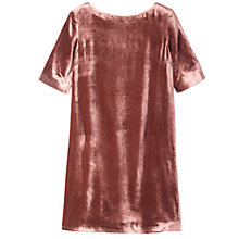 Buy Toast Silk Velvet Shift Dress Online at johnlewis.com