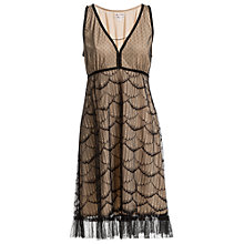 Buy Max Studio Scallop Lace Dress, Black Online at johnlewis.com