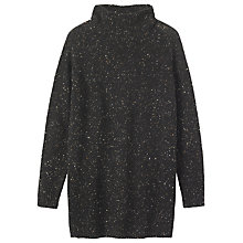 Buy Toast Donegal Wool Tunic Dress, Old Black Online at johnlewis.com