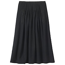Buy Toast Soft Wool Skirt, Black Online at johnlewis.com