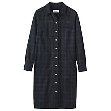 Buy Toast Smokey Plaid Shirt Dress, Navy Multi Online at johnlewis.com