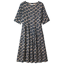 Buy Toast Painted Flower Wool Challis Dress Online at johnlewis.com