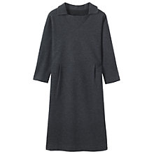 Buy Toast Cecily Wool Cotton Jersey Dress Online at johnlewis.com
