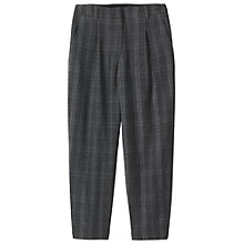 Buy Toast Soft Wool Plaid Trousers, Grey Check Online at johnlewis.com