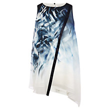 Buy Coast Minimal Print Tunic Top, Multi Online at johnlewis.com