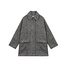 Buy Gerard Darel Uptown Coat, Black/Beige Online at johnlewis.com