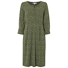 Buy White Stuff Kindling Jersey Dress, Spinach Green Online at johnlewis.com