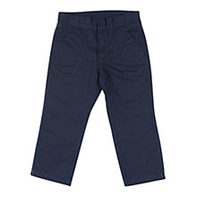 Buy Polarn O. Pyret Baby Cotton Chinos, Blue Online at johnlewis.com