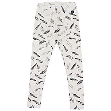 Buy Polarn O. Pyret Girl's Feather Leggings Online at johnlewis.com