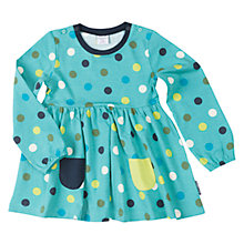 Buy Polarn O. Pyret Girls' Polka Dot Tunic Top Online at johnlewis.com