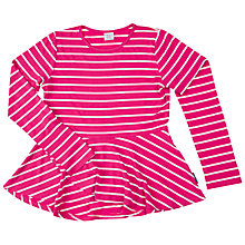 Buy Polarn O. Pyret Girls' Stripe Tunic Top Online at johnlewis.com