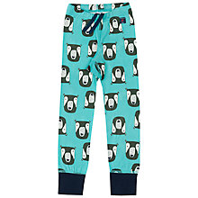 Buy Polarn O. Pyret Boys' Bear Leggings, Blue Online at johnlewis.com