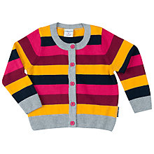 Buy Polarn O. Pyret Baby Stripe Cardigan Online at johnlewis.com