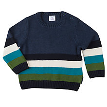 Buy Polarn O. Pyret Baby Colour Block Jumper Online at johnlewis.com
