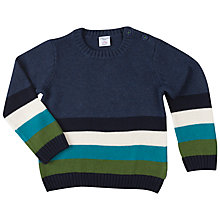 Buy Polarn O. Pyret Children's Colour Block Jumper Online at johnlewis.com