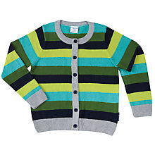 Buy Polarn O. Pyret Children's Stripe Cardigan Online at johnlewis.com