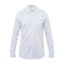Buy Ted Baker Micro Dobby Newtune Shirt, White Online at johnlewis.com