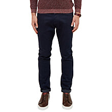 Buy Ted Baker Straight Fit Steve Jeans, Rinse Denim Online at johnlewis.com