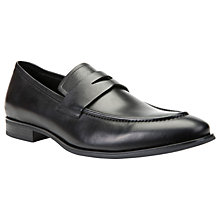 Buy Geox Albert G 2Fit Loafers, Black Online at johnlewis.com