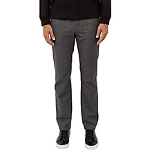 Buy Ted Baker Seton Trousers, Grey Online at johnlewis.com
