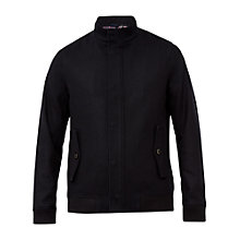 Buy Ted Baker Adam Bomber Jacket, Navy Online at johnlewis.com