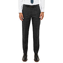 Buy Ted Baker Conntro Check Trousers, Charcoal Online at johnlewis.com