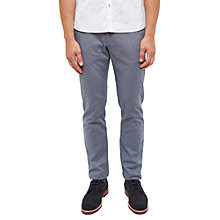 Buy Ted Baker Tommie Mini Design Trousers, Blue Online at johnlewis.com